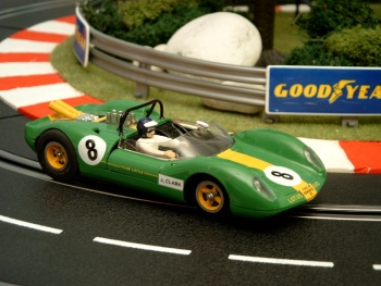 Lotus 40 Ford #8-Guards Trophy Brands Hatch 1965